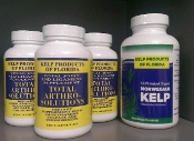 3 MONTH SUPPLEMENT SUPPLY! KELP + TOTAL ARTHRO! Save $35.00